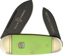 "Rough Rider RR1455 Zombie Nick Toenail Folding Knife 4"" Clos"