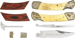Rough Rider RRCS1 Custom Shop Large Folding Knife Kit Wood H