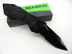 Schrade SCHA3BS 7.3in High Carbon S.S. Assisted Opening Fold