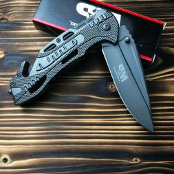 Smith & Wesson M&P Gray Handle Emergency Rescue Folding Line