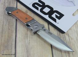 SOG FIELDER LINERLOCK FOLDING KNIFE WITH POCKET CLIP - 7.8 I