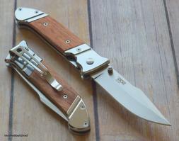 sog fielder linerlock folding knife with pocket