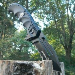SPRING ASSISTED FOLDING POCKET KNIFE Mtech U.S Marines Tacti