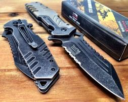 Mtech Usa Xtreme Spring Assisted Tactical Knife 8 G10 Pocket