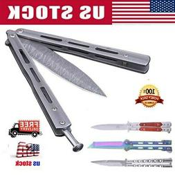Stainless Steel Knife Folding Knives Flip Outdoor Camping To