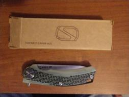stebg0103 bg01 linerlock sandvik steel jade folding