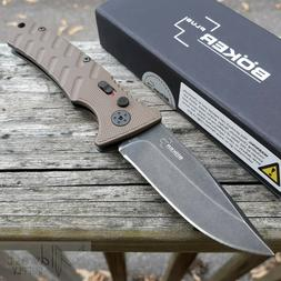 Boker Strike Coyote Folding Knife 3.25 AUS-8 Blade Aluminum