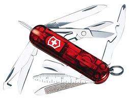 Victorinox Swiss Army Midnite Minichamp, Ruby Multi-Colored
