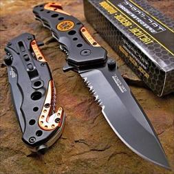 tac force knife blade emt