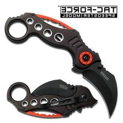 TAC FORCE Knife Pocket Folding Karambit Spring Assisted - Ch