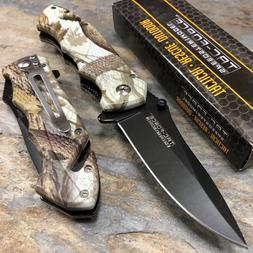 Tac Force Speedster Model Spring Assisted Knife Outdoor camo