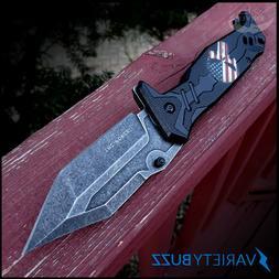 TAC FORCE SPRING ASSISTED POCKET KNIFE Tactical Folding Puni