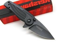 KERSHAW Tactical Black SPOKE Assisted Straight Folding POCKE