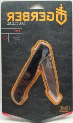 "Gerber Tactical - EVO - Clip Folding Knife - 3.43"" Blade - 7"