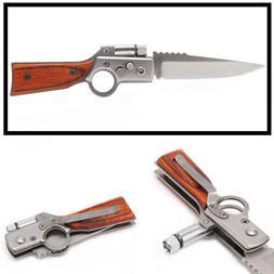 Tactical Folding Blade Knife Survival Hunting Camping Pocket