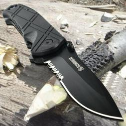 Tactical Folding Knife Spring Assisted Knife G10 handle 3.4'