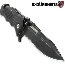 Steinbrucke Tactical Knife Spring Assisted Opening Pocket Kn