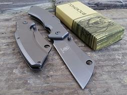 "8"" TACTICAL Spring Assisted BestSeller989 Open Pocket Knife"
