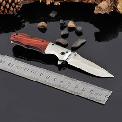 Tactical Survival Folding Blade Knife Pocket Camping Hunting