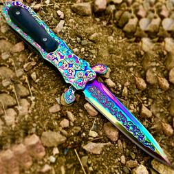 "TheBoneEdge 8.5"" Rainbow Color Medieval Style Spring Assiste"