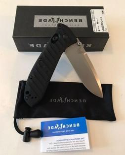 "Benchmade USA Presidio II Folding Knife 3.26"" S30V Black Han"
