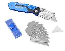 KOBALT UTILITY KNIFE 11 BLADES QUICK CHANGE BOX CUTTER RAZOR