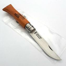 Opinel VRN No 6 Folder Folding Knife Carbon Steel Blade Beec