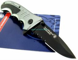 """Smith & Wesson S&W SWA16CP Extreme Ops 4.75"""" Folding Knife B"""