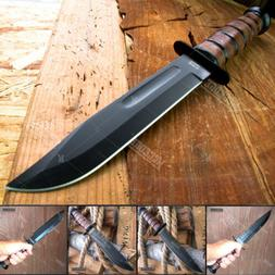 "WARTECH 12"" MILITARY USMC Bushcraft Knives Survival Tactical"