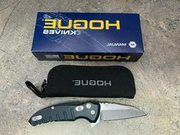 """Hogue X1 MicroFlip 2.75"""" Folding Knife Wharncliffe Blade Mat"""