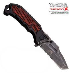 MTech USA Xtreme MX-A851BWS Assisted Opening Knife Stonewash