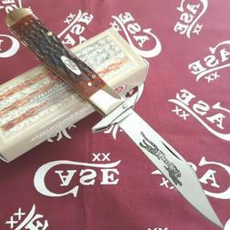 Case XX Cheetah Folding Knife Carbon Steel Blade Dark Red Ji