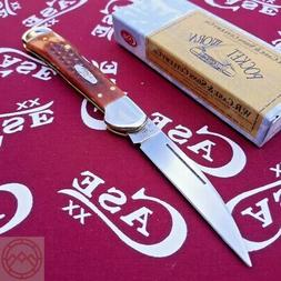 "Case XX Copperlock Harvest Folding Knife 2.8"" Stainless Stee"