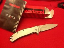 Kershaw Zing 1730SS folding pocket knife frame lock assisted
