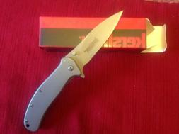 Kershaw Zing 1730SS folding pocket knife frame lock assisted